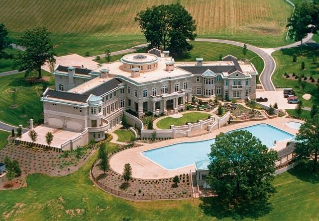 Athlete Homes And Mansions Mansions Big Mansions Luxury Homes Dream Houses