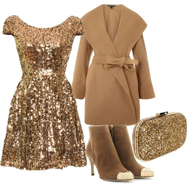 """Gold "" by dfanny on Polyvore"