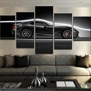 Dodge Viper Gts Car Cars Canvas Wall Art Wall Canvas Car Wall Art