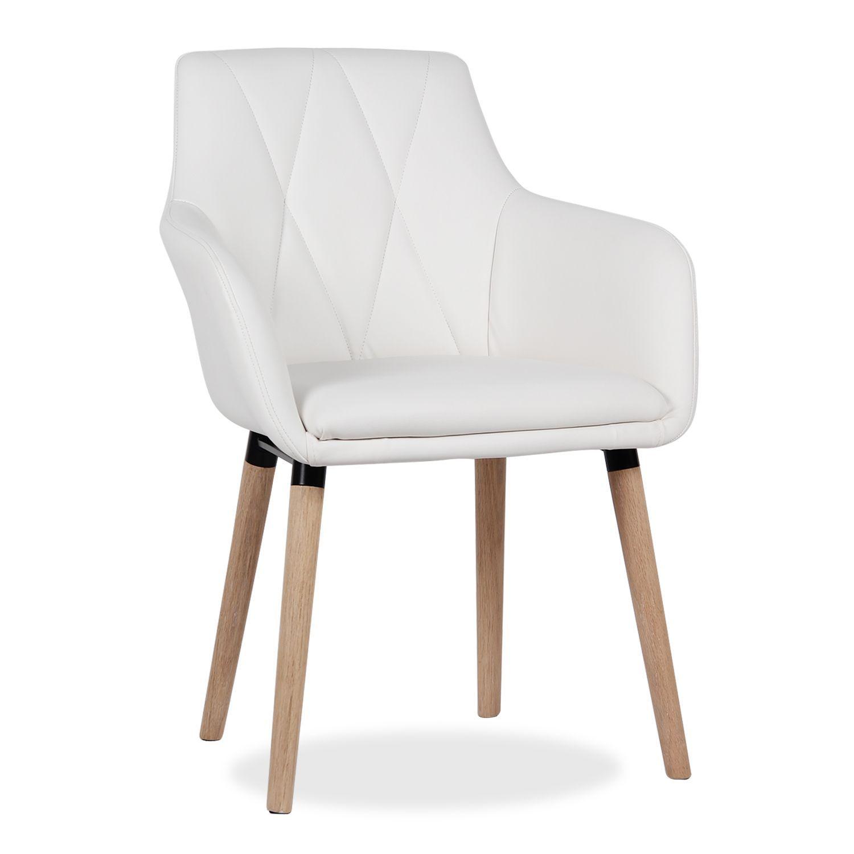 Silla de dise o actual para comedor o sal n asiento y for Sillas de madera para salon