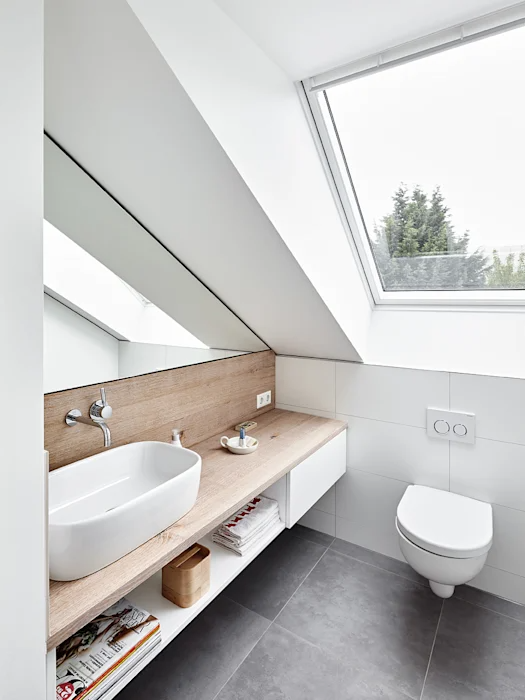Dachgeschossausbau, ratingen philip kistner fotografie moderne badezimmer