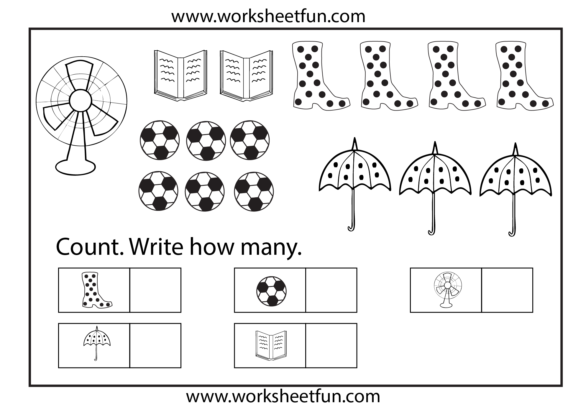 Counting Autism Pinterest Count Worksheets And Number Tracing