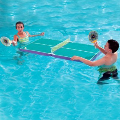Floating Table Tennis Set Swimming Pool Ping Pong Table