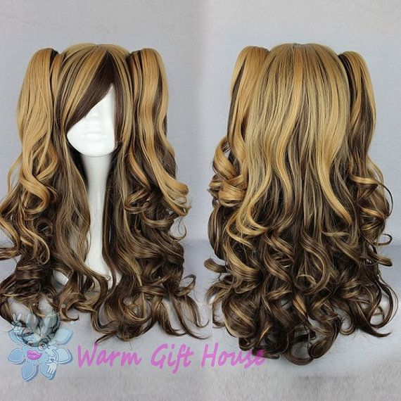 *****************Product Details*****************    Item Type: Wig    is customized: Yes    Color:multi-color Length: 70cm    Brand name: Warm