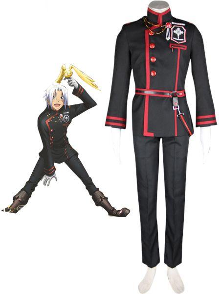 D.Gray man Allen Walker anime Cosplay Costume