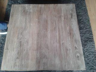 Wonen in je eigen stijl: teak hout vergrijzen klus tips diy