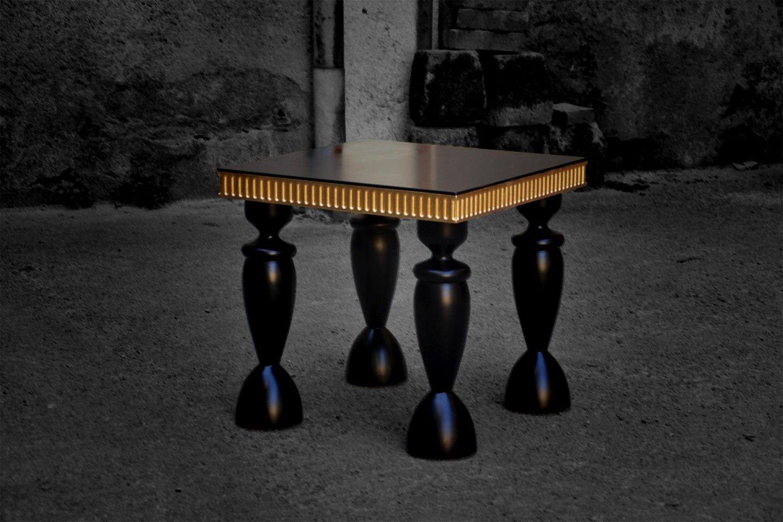 Romeo Orsi design furniture coffee table decor - luxury handmade