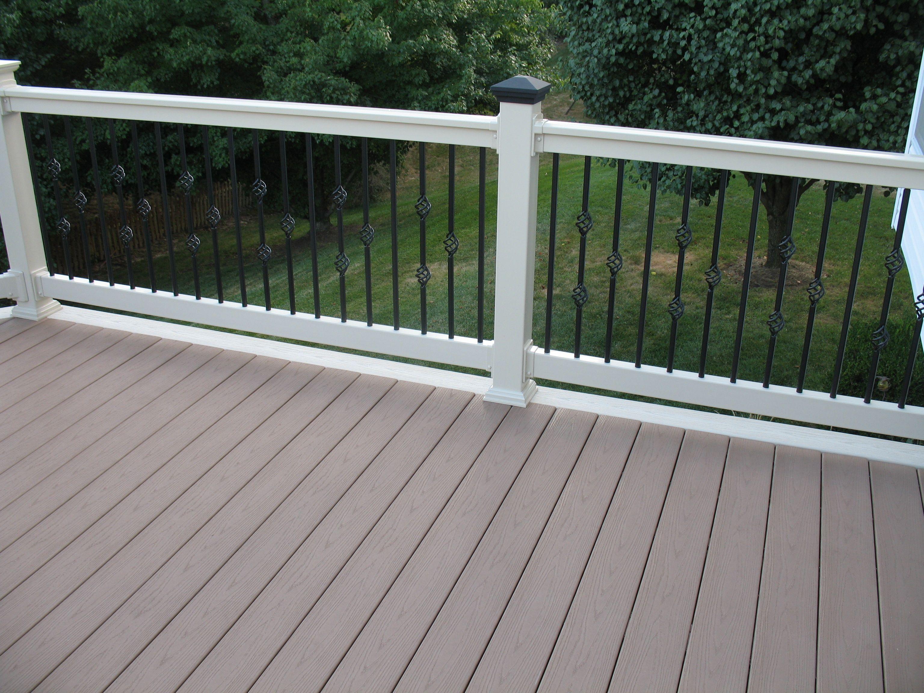 high resolution pvc deck railing 4 white vinyl deck. Black Bedroom Furniture Sets. Home Design Ideas