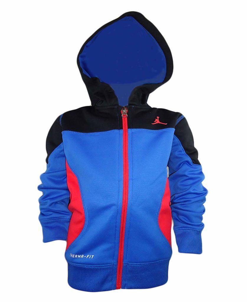 861c0a972451 Air Jordan Activewear Entrance-Zip Hoodie Little Boys Apparel ...