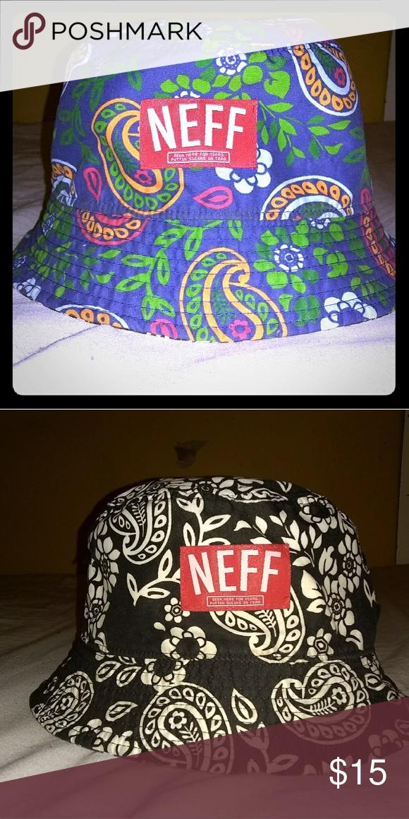 bfa297a42 Neff Reversible Bucket Hat Condition (8/10) Haven't worn still mint ...