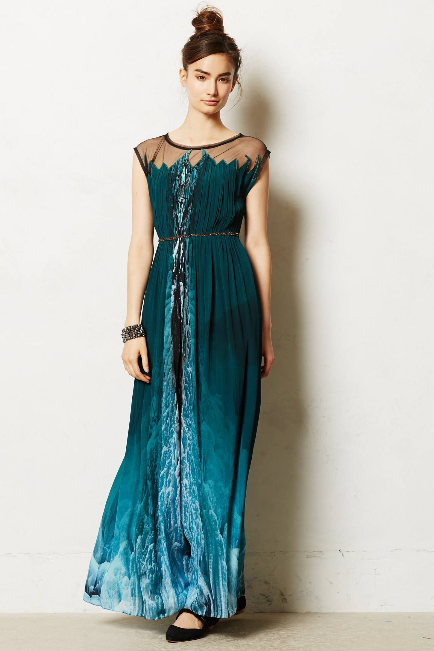 Icefall Maxi Dress - anthropologie | WHAT TO WEAR — fashion ...