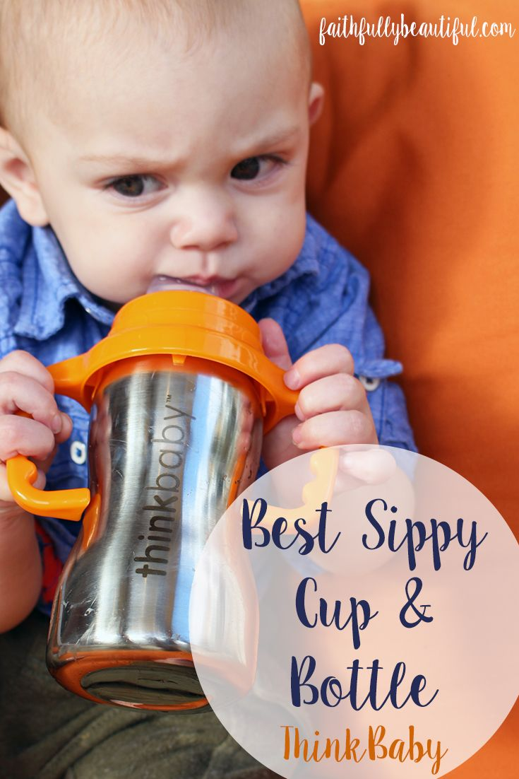 ThinkBaby bottle, ThinkBaby Sippy Cup, Stainless Steel Sippy Cup, Best Sippy Cups #ad