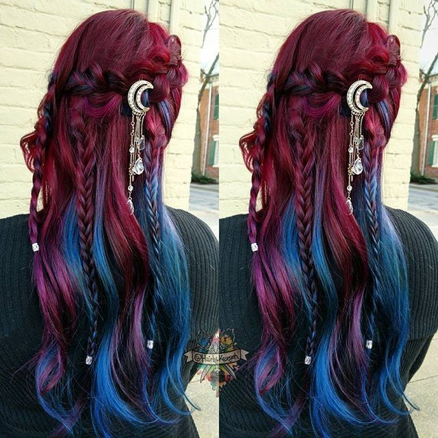 Holy land mermaids Batman! -   13 hair DIY hairdos ideas