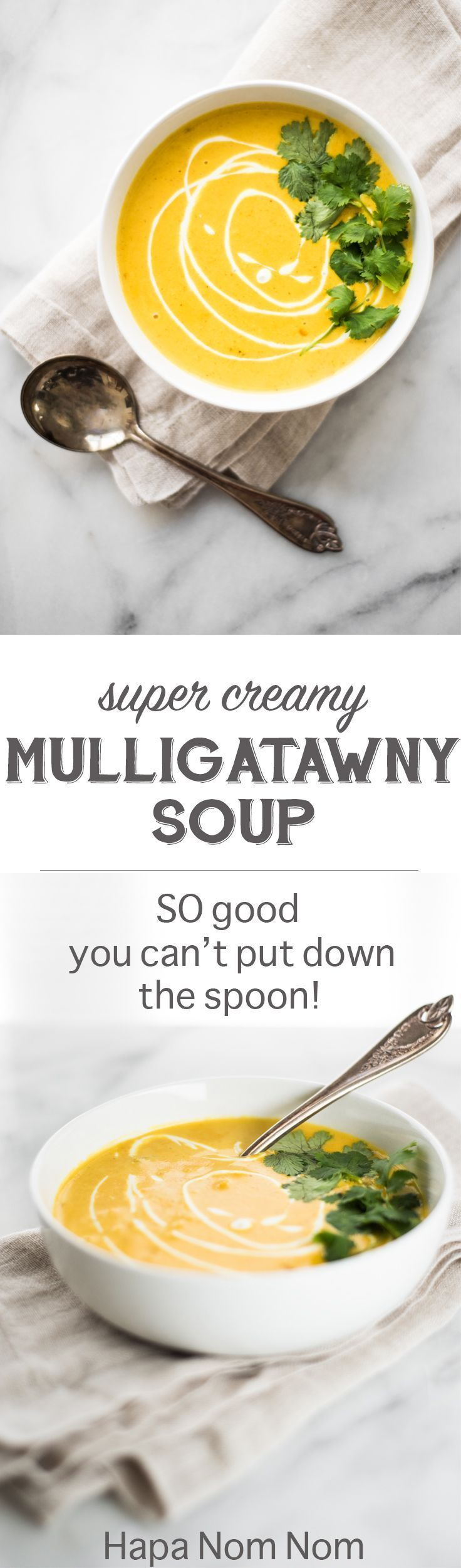 Super Creamy Mulligatawny Soup #mulligatawnysoup This Super Creamy Mulligatawny Soup is going to ROCK your world! It's so rich, so creamy, so good, that I was literally spooning molten hot soup into my mouth before it even had time to cool down! #mulligatawnysoup Super Creamy Mulligatawny Soup #mulligatawnysoup This Super Creamy Mulligatawny Soup is going to ROCK your world! It's so rich, so creamy, so good, that I was literally spooning molten hot soup into my mouth before it even had time to c #mulligatawnysoup