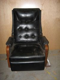 how to repair leather armchair