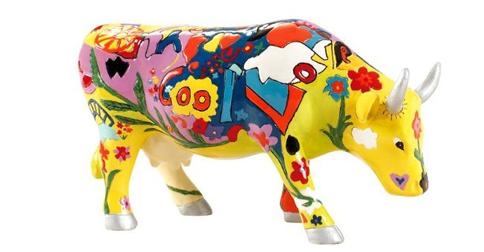 #Geschenk #Cowparade #Kuh #Design ab 18 €