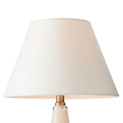Modified Empire Fabric Lamp Shade - Small - White - Threshold