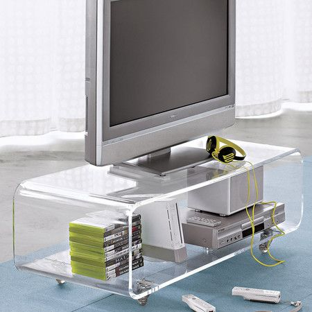 Best Webley Media Console Lucite Coffee Tables Media Console 400 x 300