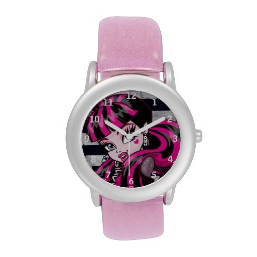 Monster High #Draculaura - Head Wrist Watches