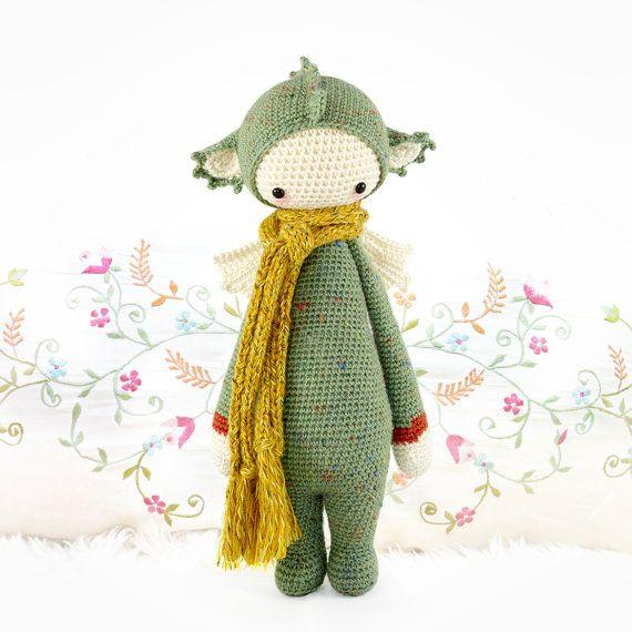 DIRK the dragon / dinosaur • lalylala crochet pattern / amigurumi ...