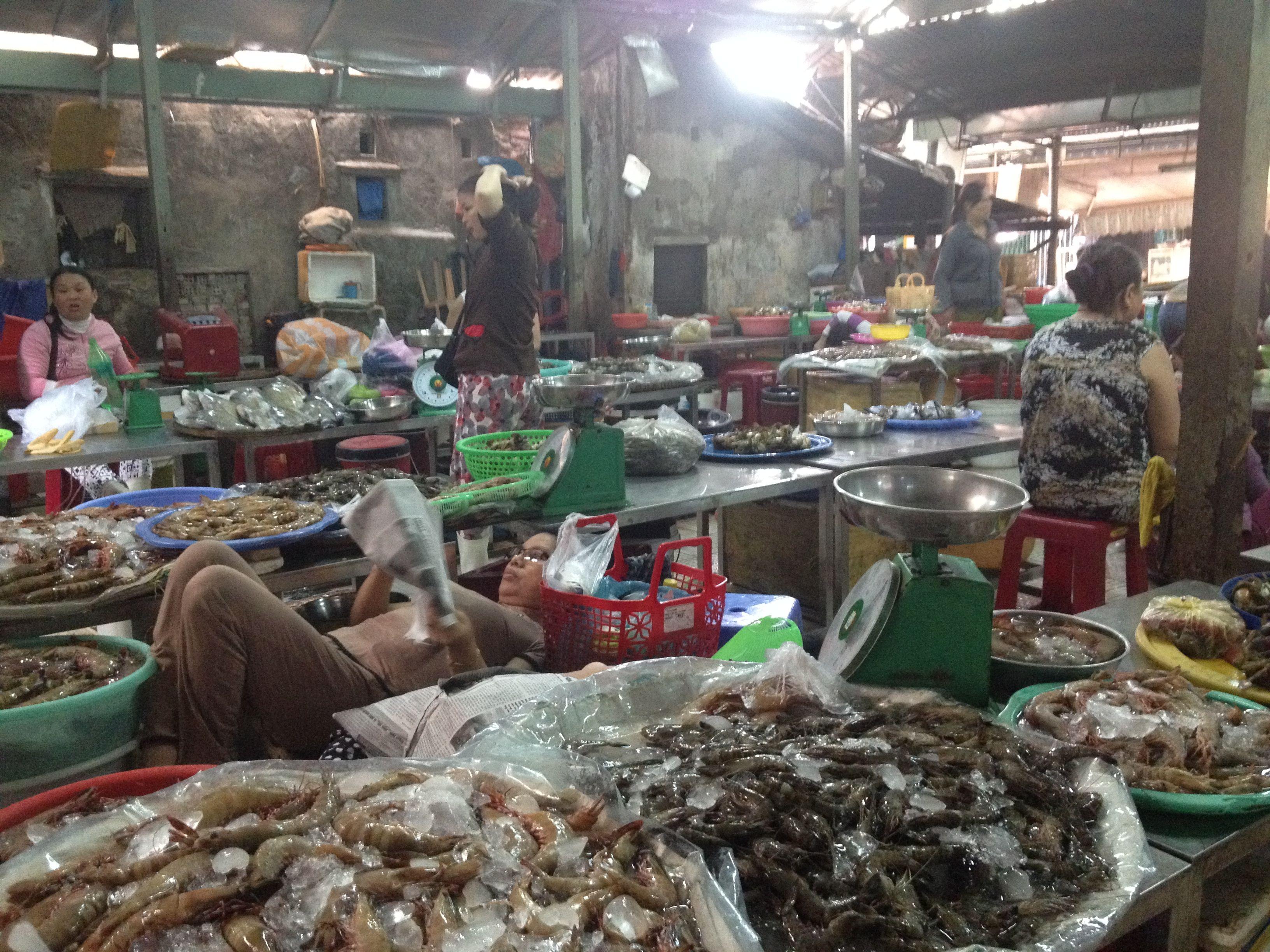 Cho Han market, Da Nang City. | Da Nang Region Vietnam ...