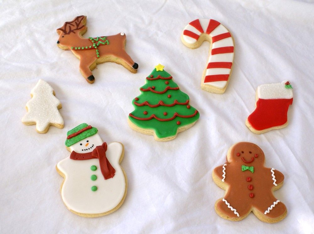 christmas biscuit decorating ideas