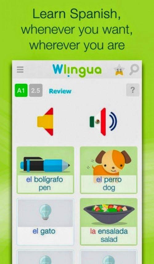 Learn Spanish With Wlingua Learn Spanish App