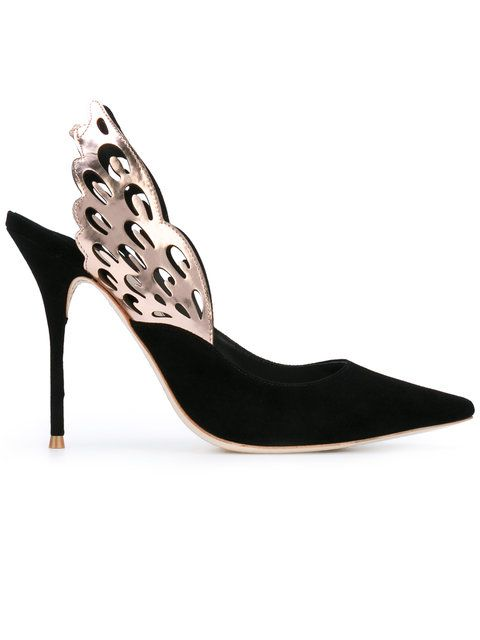 77e64595779 SOPHIA WEBSTER Wings Motif Pointed Pumps.  sophiawebster  shoes  pumps