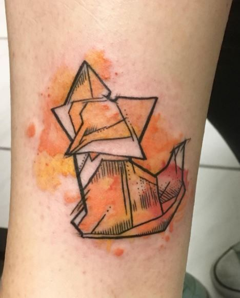 Image Result For Origami Tattoo Fox