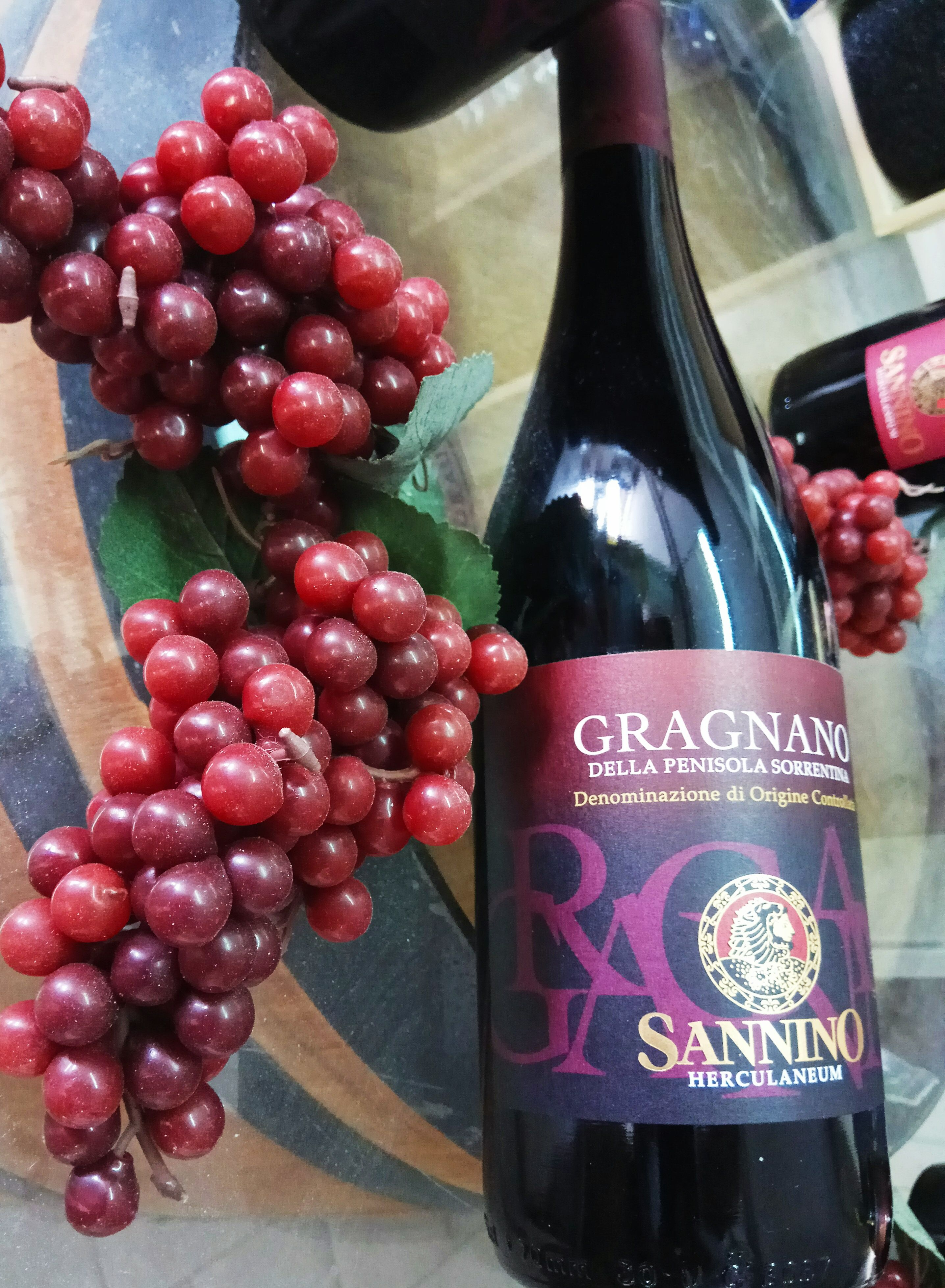 Gragnano Red Wine From Sorrento Peninsula D O C Fruity Flavors Wine Red Wine