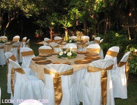 bodas modernas en color dorado | ideas fiestas y bodas