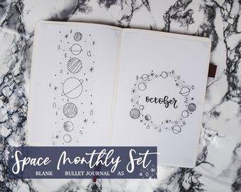 Voll September 2018 & BLANK Setup Druckbar für Journal oder | Etsy