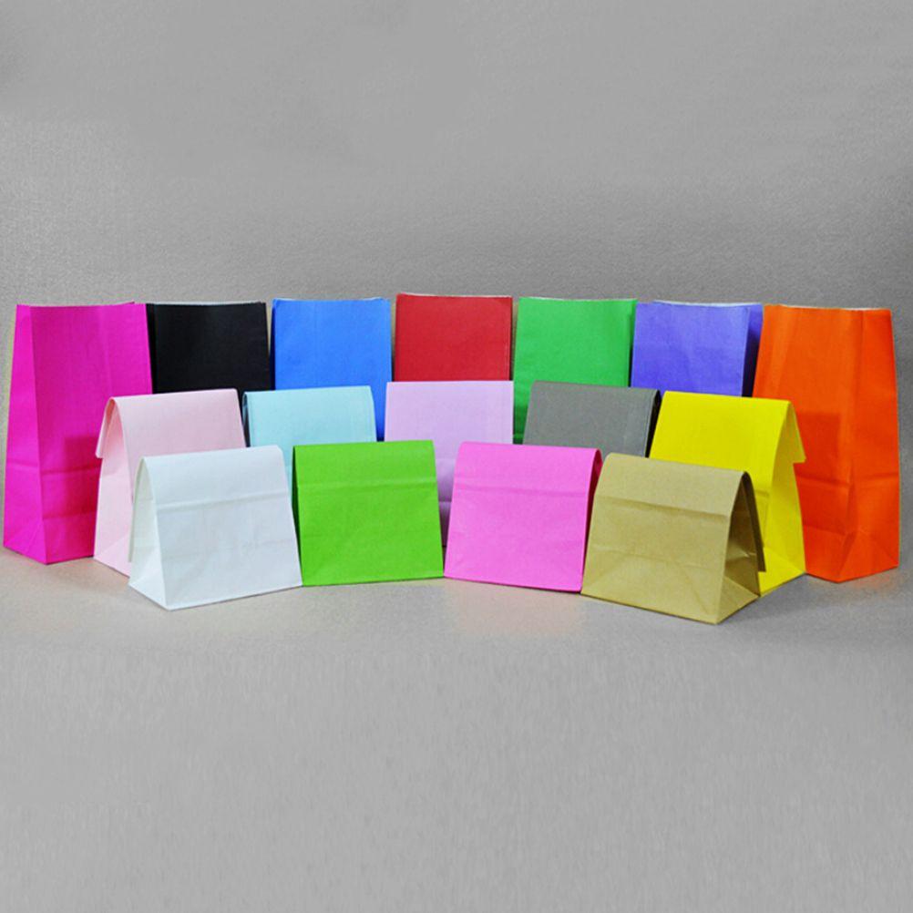 Pas cher Kraft Papier Cadeau Sacs 10 pcs lot De Mariage De Sucrerie
