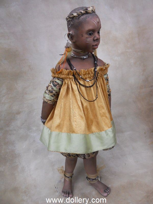 Susan Krey Collectible Dolls,,,Leila