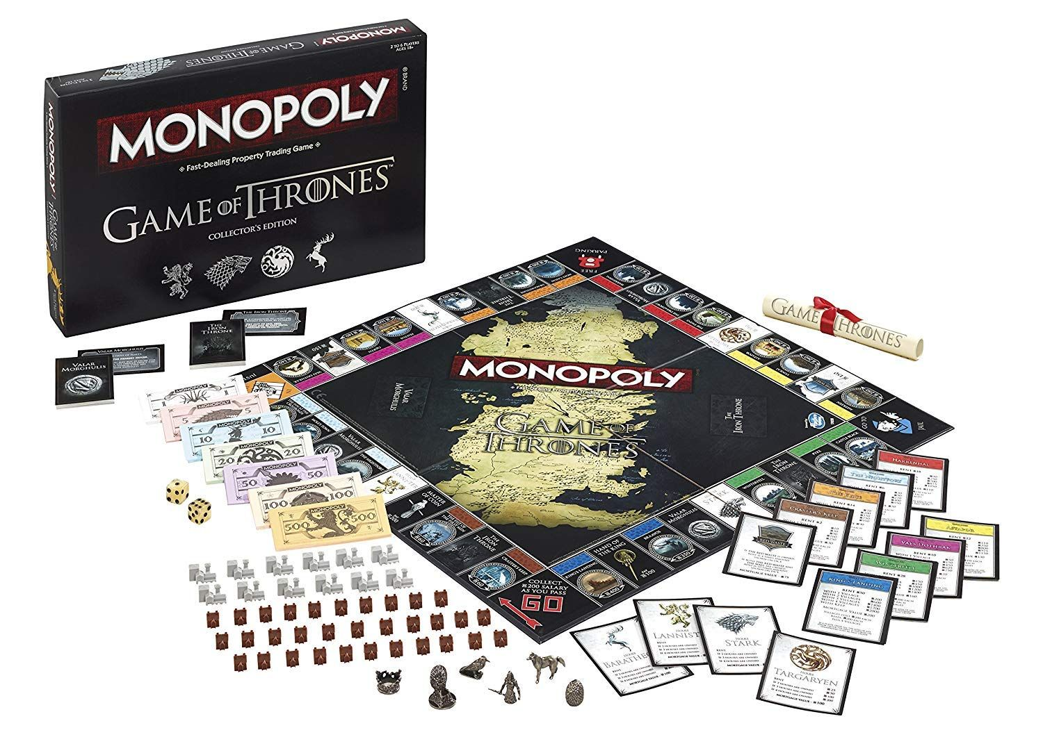 Grab Game Of Thrones Monopoly For Adults Before It All Ends Game Of Thrones Merchandise Card Games For Kids Hbo Game Of Thrones