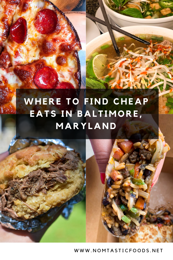The Best Cheap Eats In Baltimore Maryland Nomtastic Foods Cheap Eats Eat Food