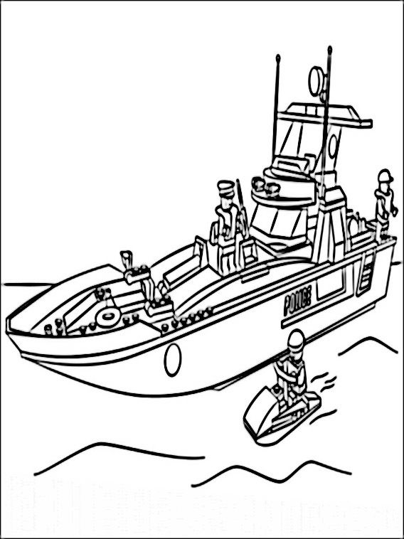 Lego Police Coloring Pages 4 Lego Coloring Pages Lego Police Ninjago Coloring Pages