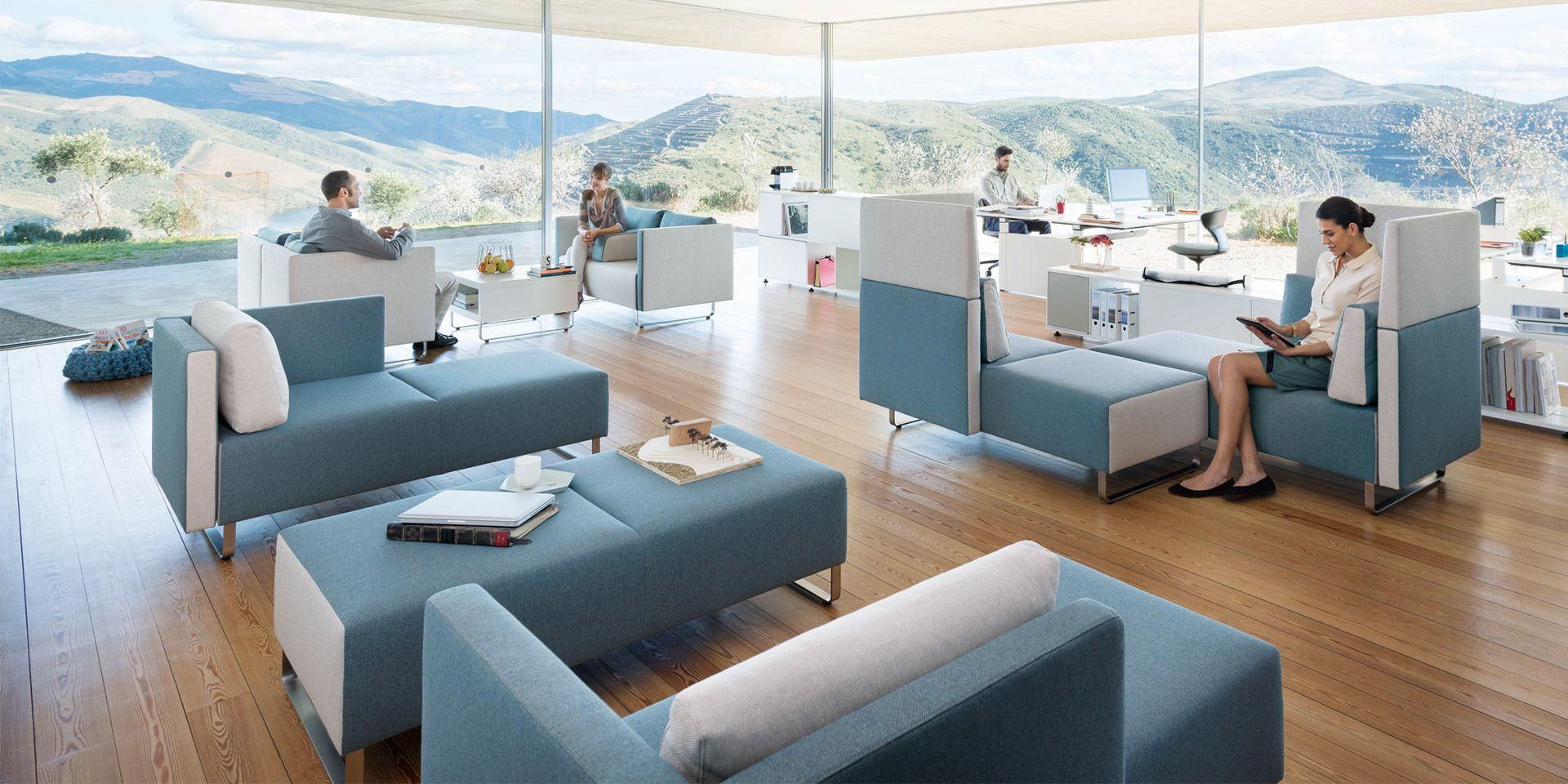 Lounge möbel für büro  sopha: bequeme Loungemöbel fürs Büro | Sedus | Büromöbel | Pinterest ...