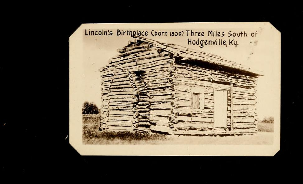 Souvenir Of Lincoln S Birthplace Hodgenville Kentucky Free Download Borrow And Streaming Kentucky Lincoln Statue Free Online Library