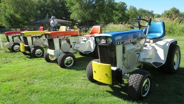 vintage lawn tractor collectors