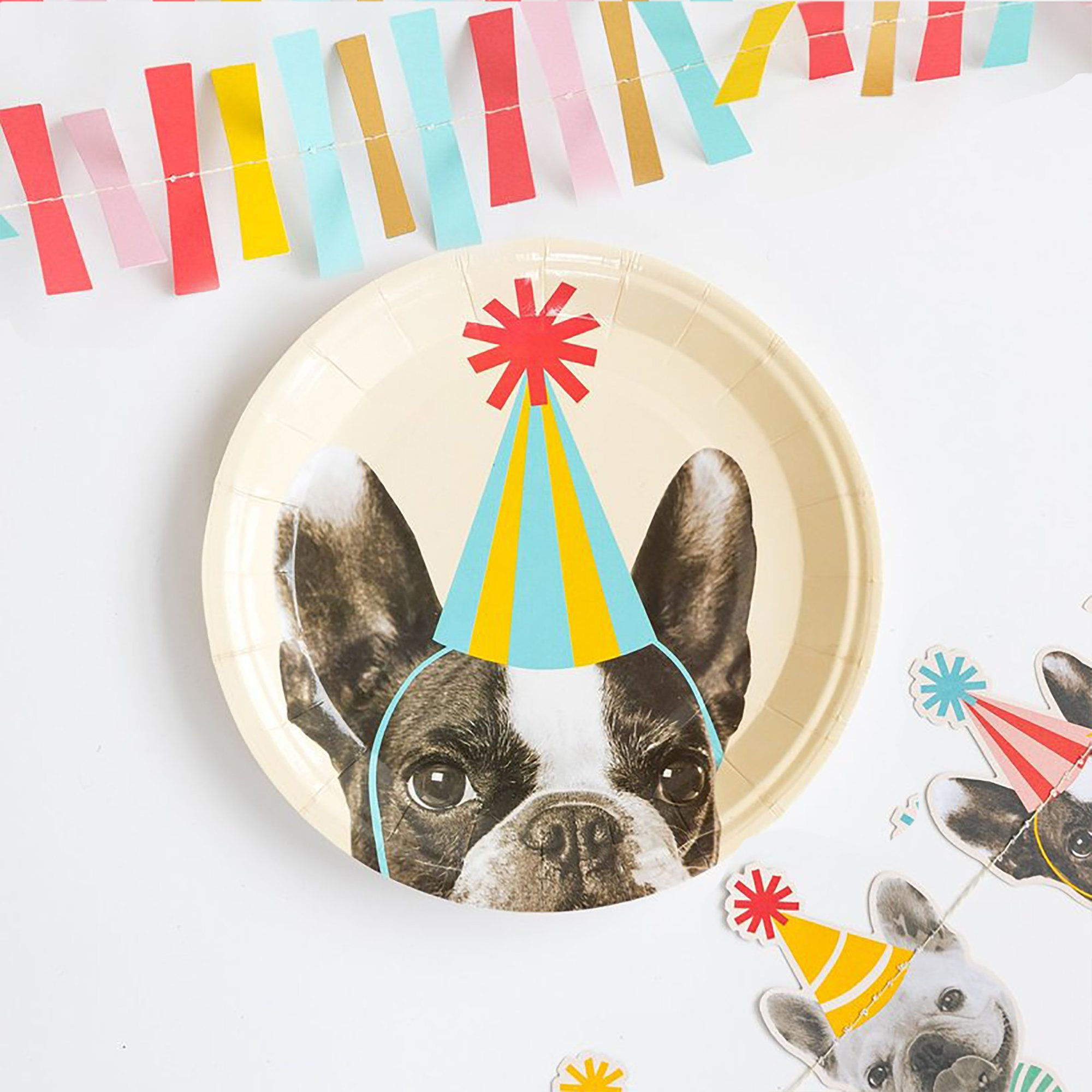 Bulldog Birthday Pack Bulldog Party Decoration Kit Personalised Bulldog Party Bundle Printable Bulldog Party Bulldog Birthday Kit
