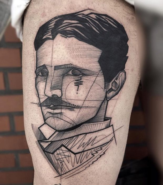 Sketches na pele por Frank Carrilho - Tatuagens em Blackwork, fineline e pontilhismo;