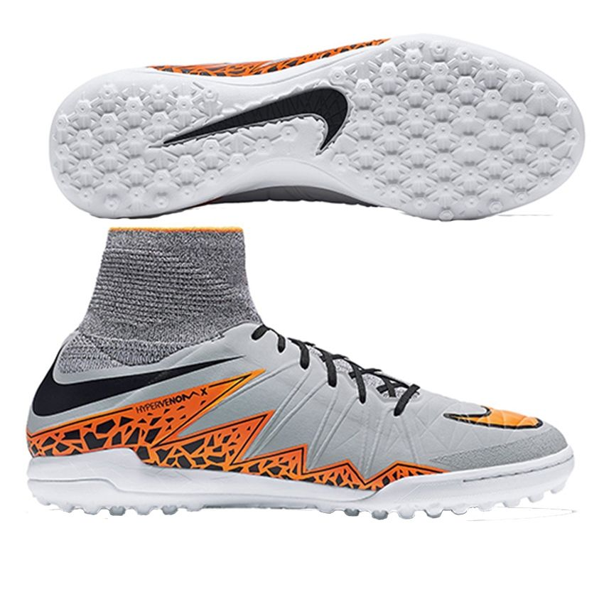 $134.99- Nike HypervenomX Proximo TF Turf Soccer Shoes (Wolf Grey/Total  Orange) | Nike Turf Soccer Shoes | Nike 747484-080 | FREE SHIPPING |  SOCCERCORNER.