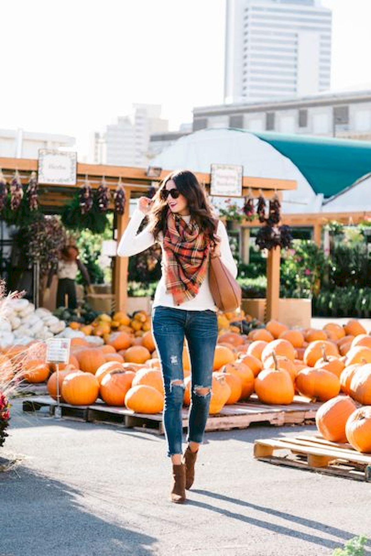 Best 40 Women Fall Outfits Ideas - Fashion and Lifestyle #pumpkinpatchoutfitwomen