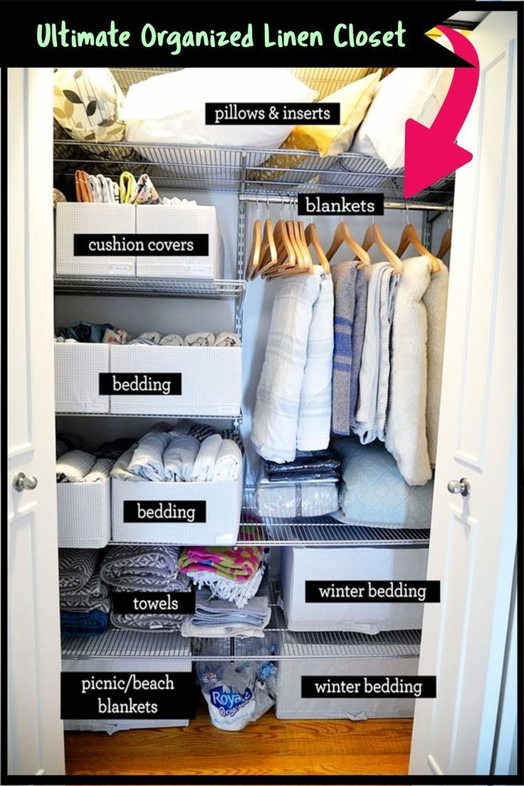 Diy Linen Closet Decluttering And Organization Ideas Decluttering Your Life Linen Closet Organizing Linens Linen Closet Organization