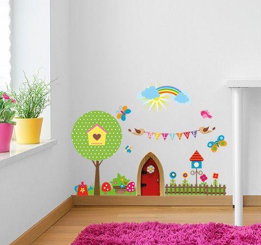 42+ Fairy door wall stickers inspirations