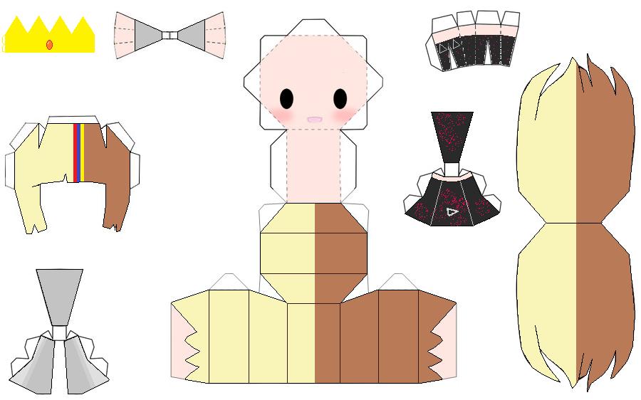 galaco papercraft by mildron on deviantART Paper dolls