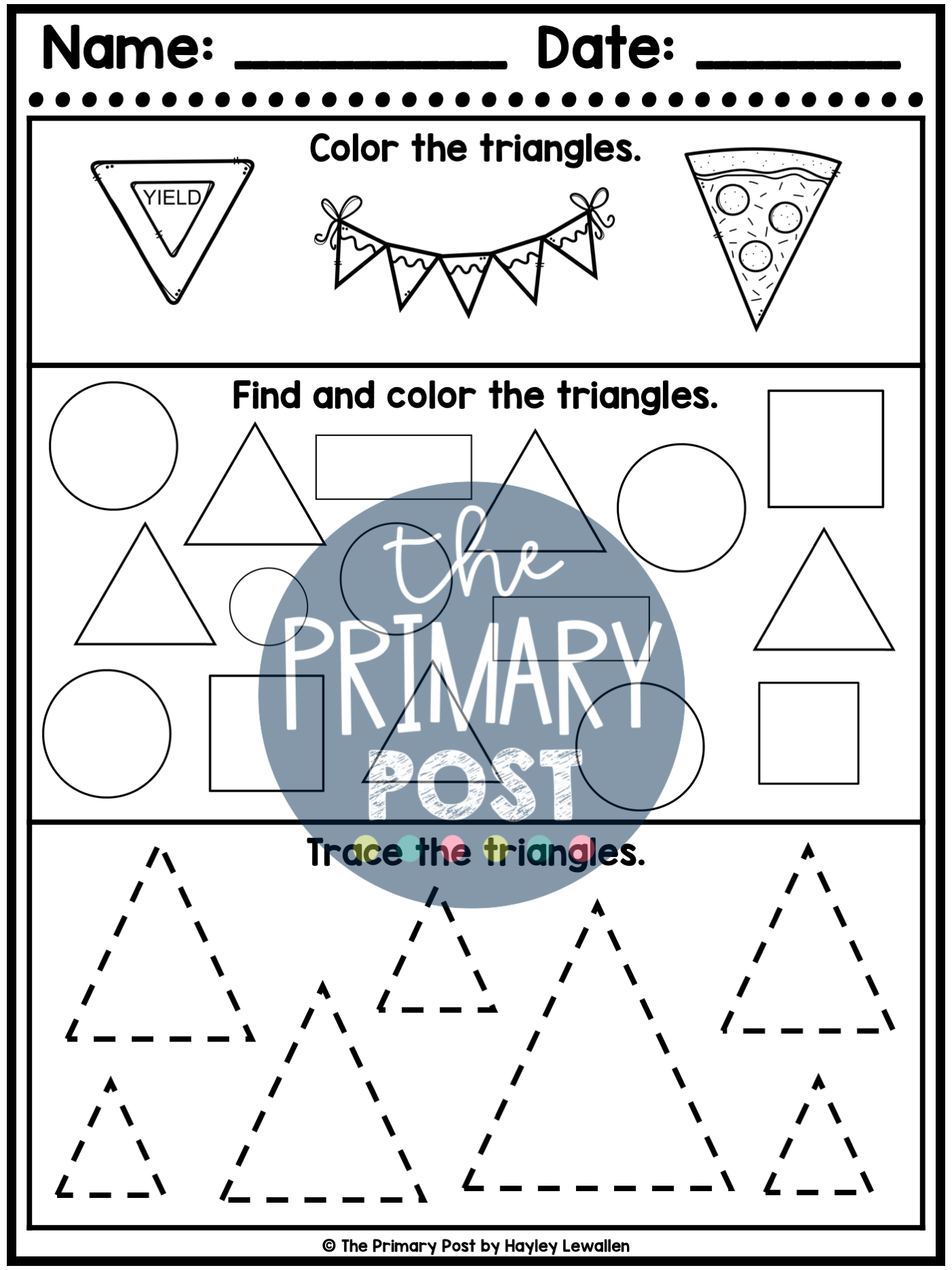 2d Shape Worksheets 2d Shapes Kindergarten Shapes