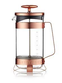 8 cup plunge pot electric copper
