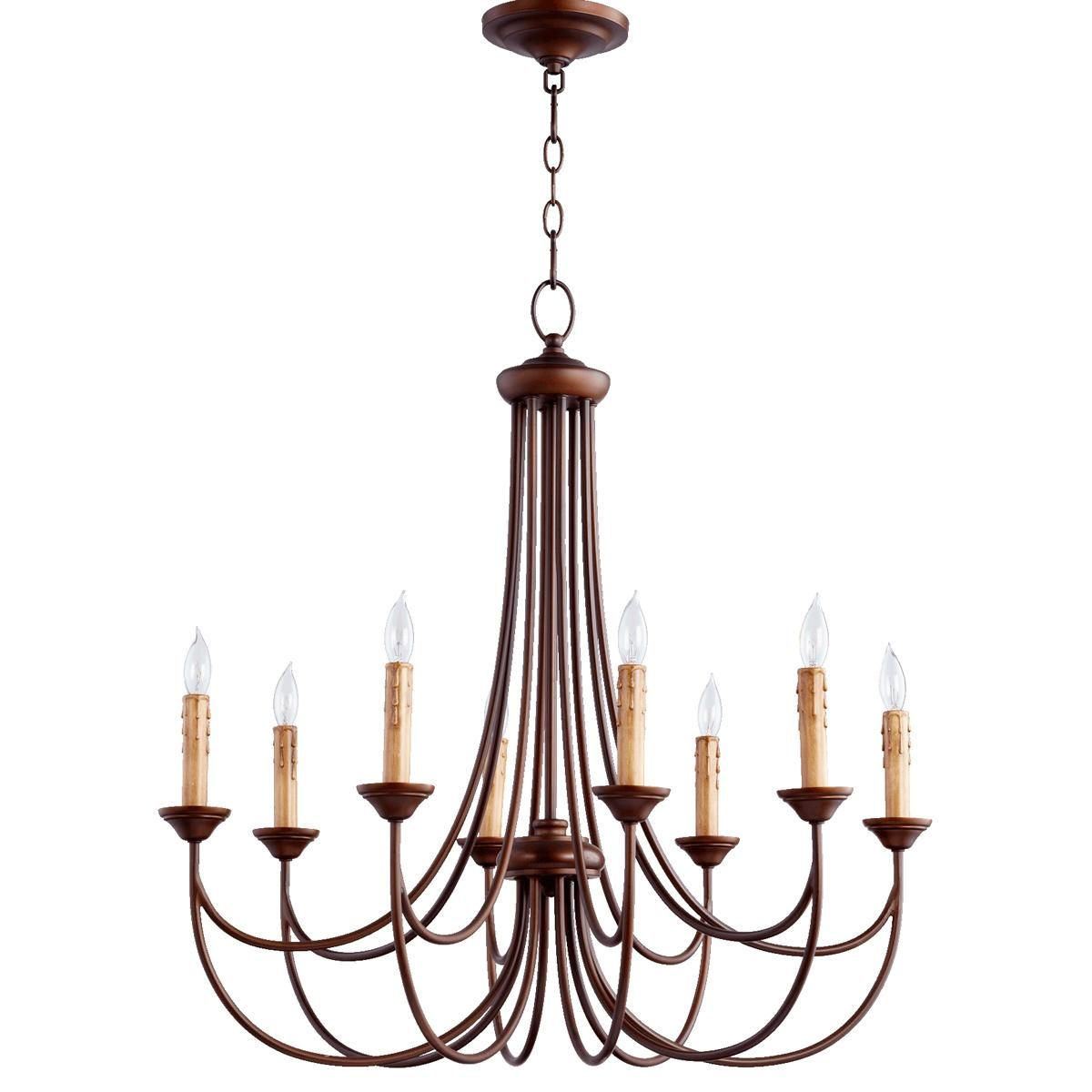 Transitional colonial chandelier small this is a quorum lighting fixture